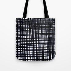Brushed Check Tote Bag