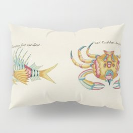 Colourful and surreal s of crabs and lobster found in Moluccas (Indonesia) and the East Indies by Lo Pillow Sham