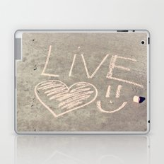 Live Love and Smile Often Laptop & iPad Skin