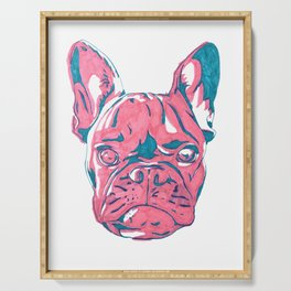 Frenchie Serving Tray