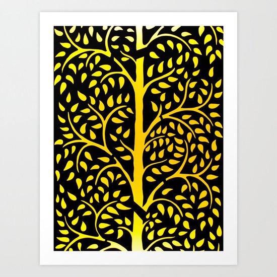 Abstract natural pattern  Art Print
