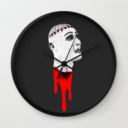 Severed Head - Feeling Ghoulish Dripping Blood Wall Clock