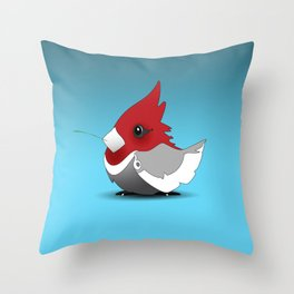 B~Cardinal Throw Pillow