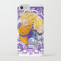 dragonball z iPhone & iPod Cases featuring DragonBall Z - Saiyan House by Art of Mike