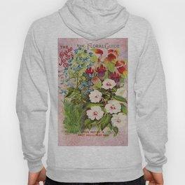 Vintage Flowers Advertisement Collage Hoody