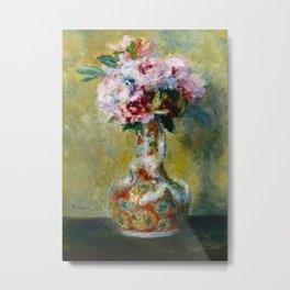 Bouquet of Flowers - Auguste Renoir Metal Print