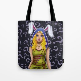 Alice Steampunk Tote Bag