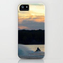 Sunset Lake Photography iPhone Case