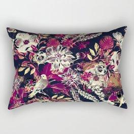 Space Garden II Rectangular Pillow