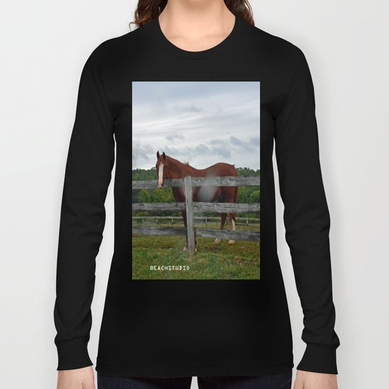 Horse Time Long Sleeve T-shirt