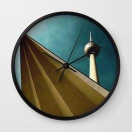 Berliner Tower Art Wall Clock
