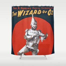The Tin Man Shower Curtain