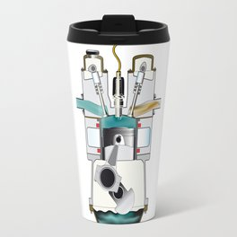 Compression Stroke Travel Mug