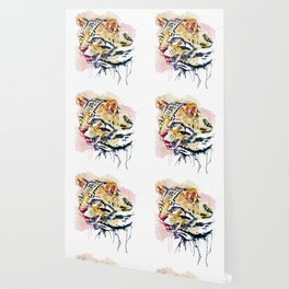 Ocelot Head Wallpaper