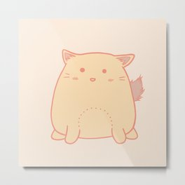 Cute little cat Metal Print