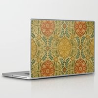 antique Laptop & iPad Skins featuring Antique Vine by Durin Eberhart