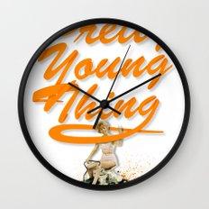 P.Y.T Wall Clock