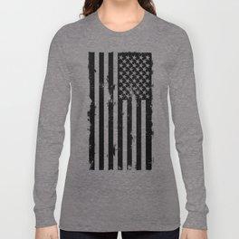 American Black Flag Long Sleeve T-shirt