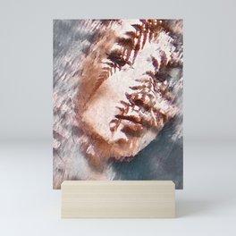Girl Face Mini Art Print