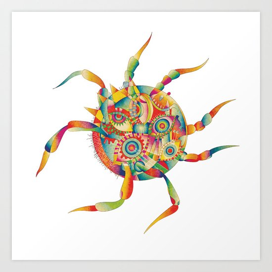 Spiderdream Art Print