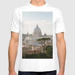 St. Peter's Basilica at Sunset T-shirt
