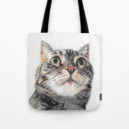 Big Eyed Cat Tote Bag