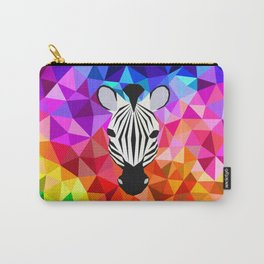 Zebra Dazzle Carry-All Pouch