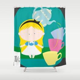 Alice In Wonderland_01 Shower Curtain