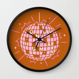 Only Human Wall Clock