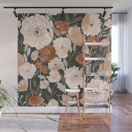 Indy Bloom Copper Poppy Garden Wall Mural