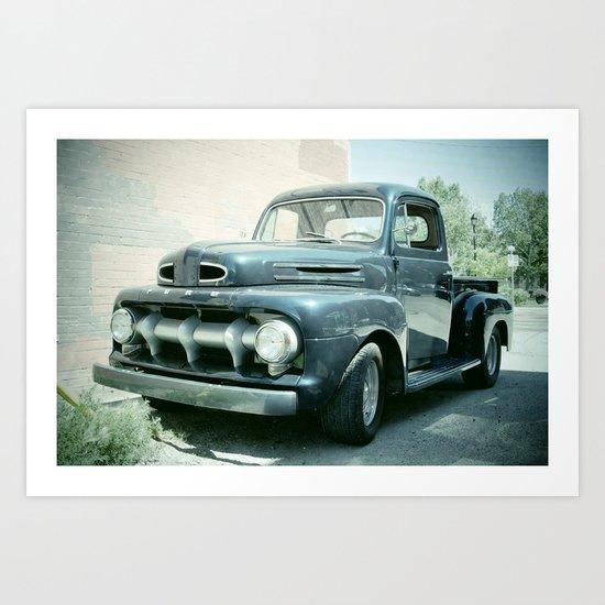 Ford Art Print