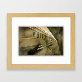 Ghost Travelers Framed Art Print