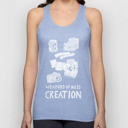 Weapons Of Mass Creation - Photography (white) Unisex Tank Top