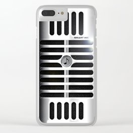 Microphone Clear iPhone Case