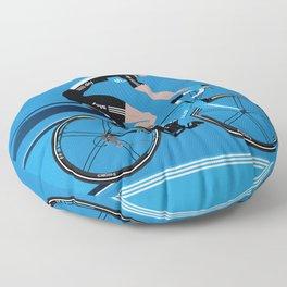 Bradley Wiggins Team Sky Floor Pillow