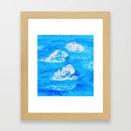 Blue Skies in Florida #2 Framed Art Print