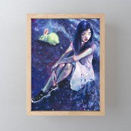 Alice Framed Mini Art Print
