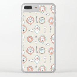 Spoon Koalas Clear iPhone Case