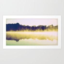 Lake landscape,  Art Print