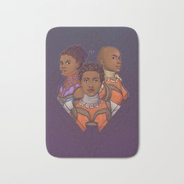 Wakanda Women Bath Mat