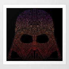 Darth Neon Trooper Art Print