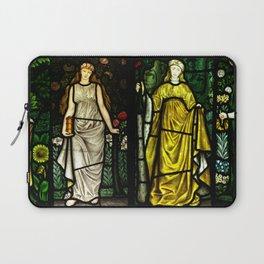 "William Morris ""Four seasons"" (Dining Room at Cragside House, Northumberland, UK) Laptop Sleeve"