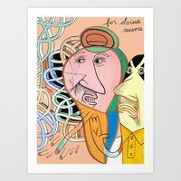 obvious Art Print