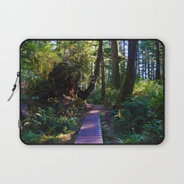 Trail to the beach, Tofino BC Laptop Sleeve