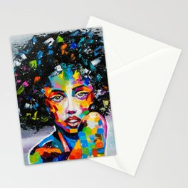 EXOTIC GIRL Stationery Cards