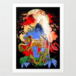 Rudra Art Print