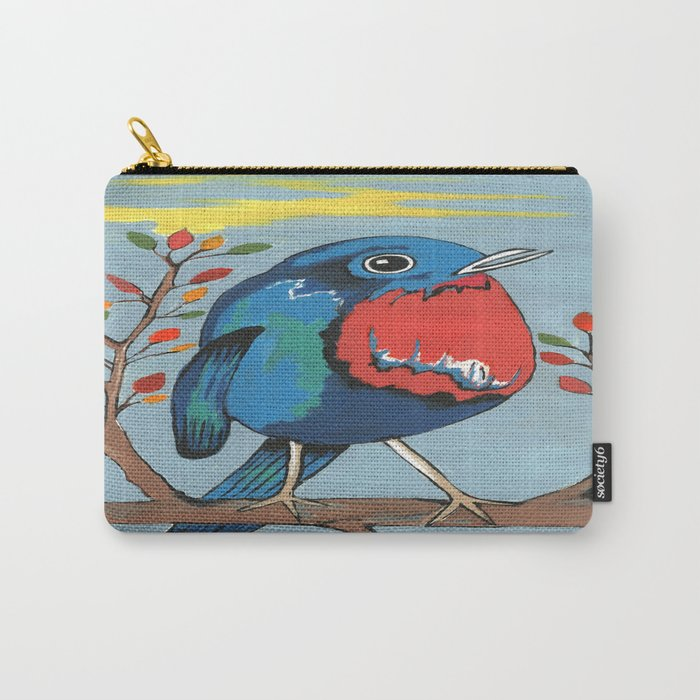 Have A Tweet Day Carry-All Pouch