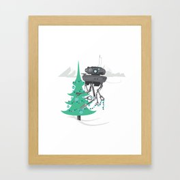 Hothy Holidays 2 - Land of Misfit Robots Framed Art Print