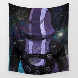 Tali'Zorah Vas Normandy Wall Tapestry