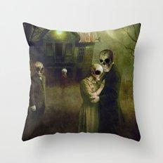 When the Dead Come Home Throw Pillow